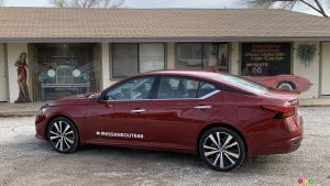 2020 Nissan Altima Review, Going West on Route 66