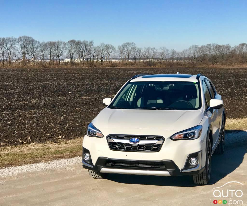 2020 subaru crosstrek phev first drive | car reviews | auto123
