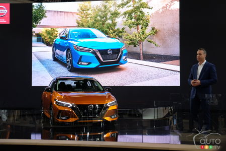 Montreal 2020: Nissan Shows off New 2020 Sentra, Reveals Pricing