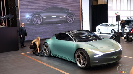 Montreal 2020: Genesis Debuts Mint Concept in Canada… and Promises an EV by 2021