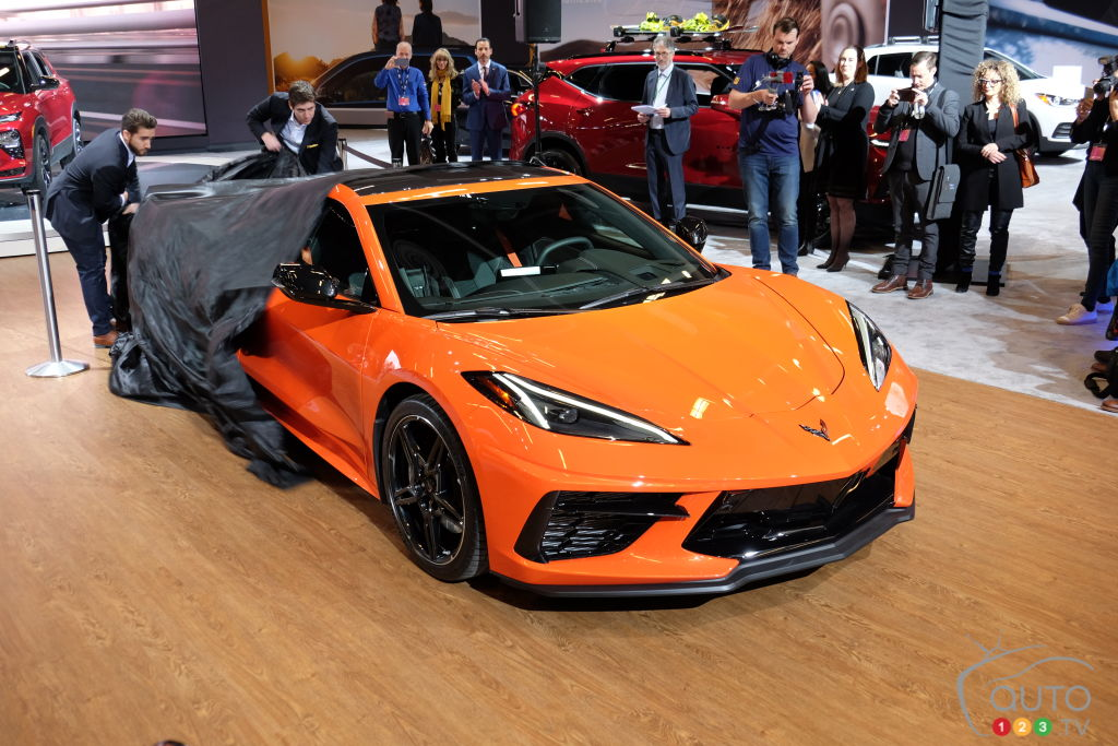 montreal 2020: chevrolet corvette c8 makes canadian debut