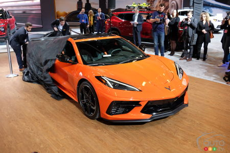 Montreal 2020: New Chevrolet Corvette C8 Wows the Crowds in Canadian Debut