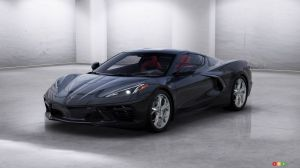 $3 Million for the First Production Chevrolet Corvette C8