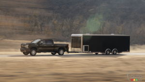 GM Touts Breakthrough in Trailer Towing and Braking