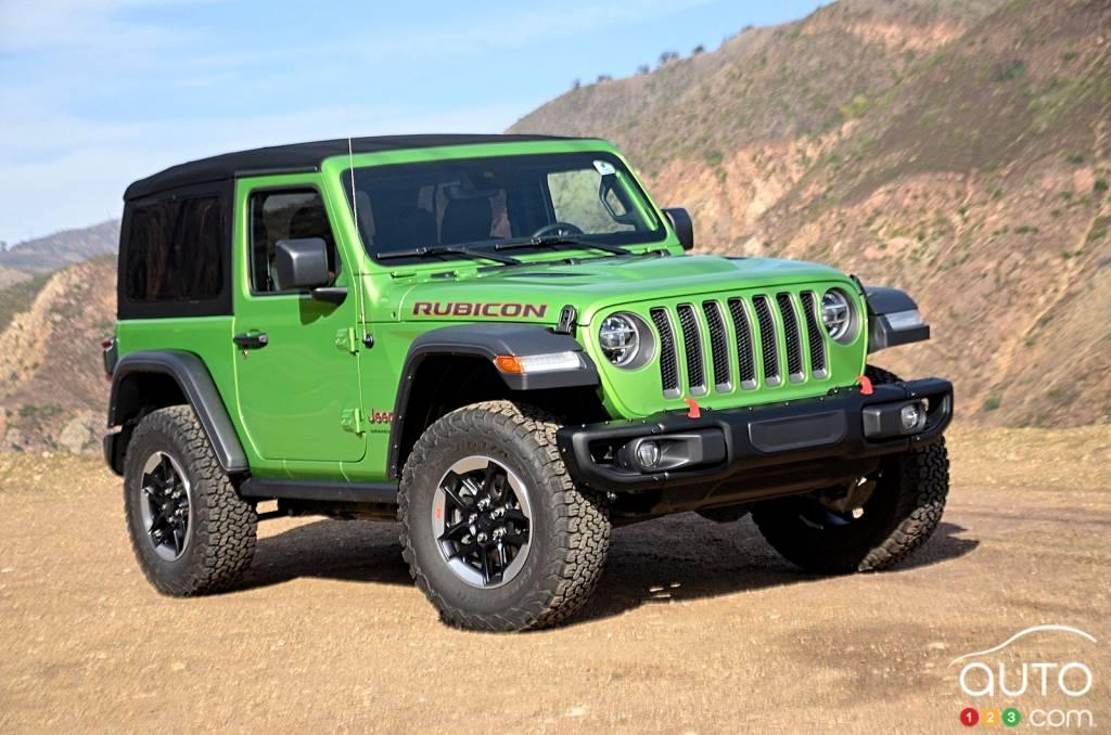 essai du jeep wrangler rubicon 2 portes 2020 | essais