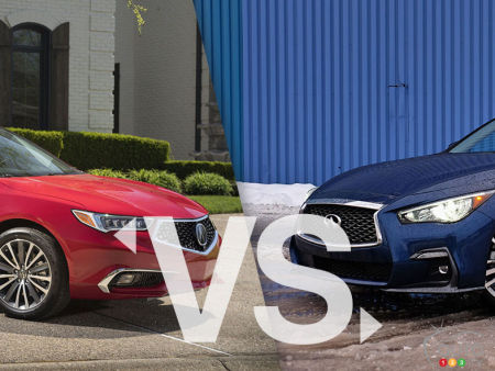 Comparison: 2020 Acura TLX vs 2020 Infiniti Q50