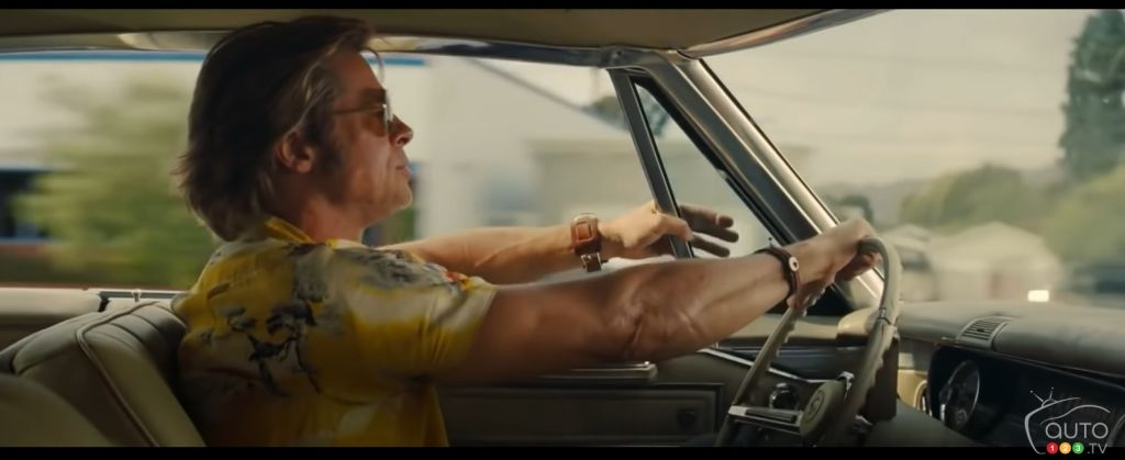 Once Upon a Time in Hollywood: Is Brad Pitt Actually Driving? With a Broken Speedometer?