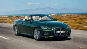 2021 BMW 4 Series Convertible Sees the Light of Day