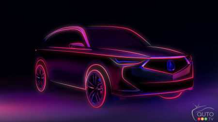 Acura Will Present Next-Gen MDX Prototype on Oct. 14