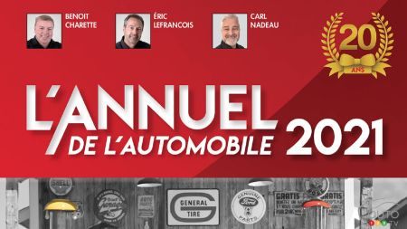 L'Annuel de l'Automobile 2021 is now out: 20 years of providing relevant information to Canadian consumers