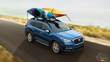 More Safety and Connectivity for 2021 Subaru Ascent