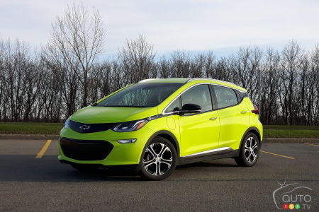 NHTSA Looking Into Chevrolet Bolt EV Fires