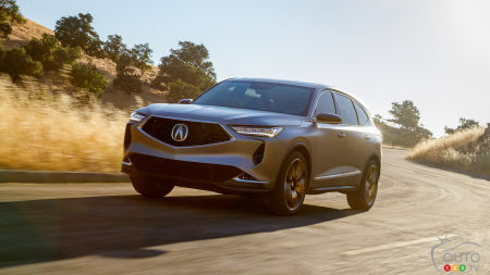 Acura Introduces 2021 MDX Prototype, A Harbinger of the Model's Future Design