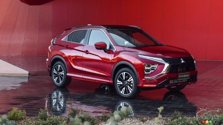 2022 Mitsubishi Eclipse Cross introduced: Revised and Re-Thought