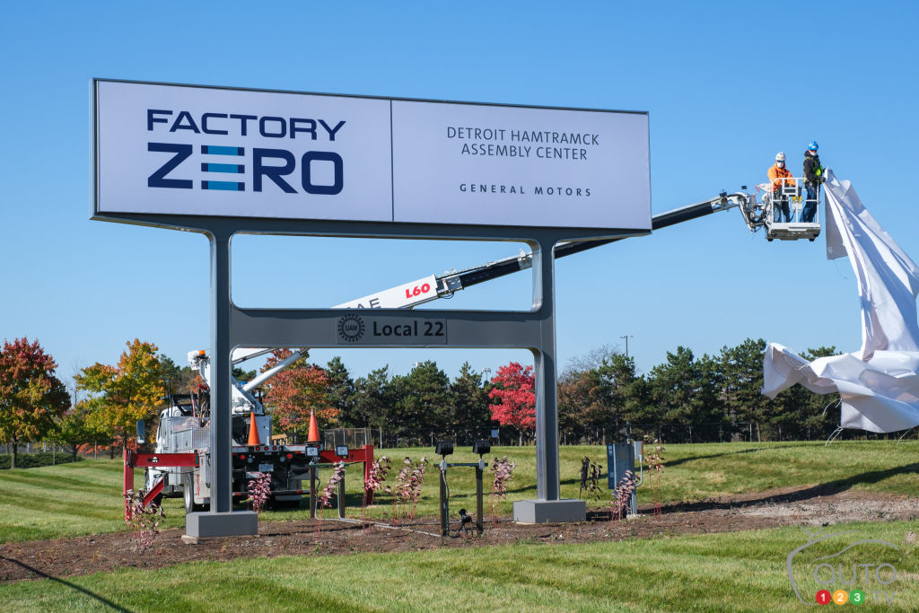 GM Re-Christens Hamtramck Plant Factory Zero to Signal Electric Focus