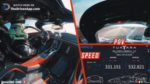 SSC Tuatara Reaches 532.8 km/h, Sets New Speed Record for a Production Car
