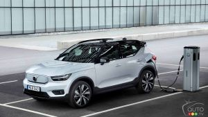 Volvo Canada Announces Pricing for 2021 XC40 Recharge