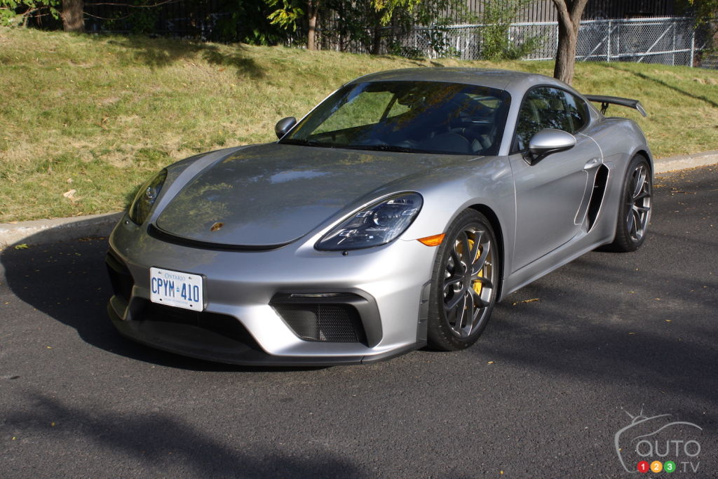 2020 Porsche 718 Cayman GT4 Review: Cozying Up to Perfection