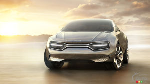 Kia Imagine concept, 2019