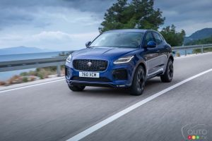 Mild Refresh for the 2021 Jaguar E-Pace