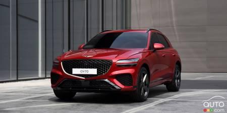 Genesis dévoile le VUS GV70 2022   Actualités automobile ...