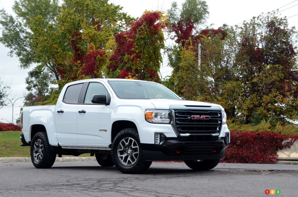 2021 GMC Canyon AT4 Review: Not Quite a Colorado ZR2, But...