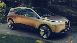 BMW to Unveil iNext SUV on November 11