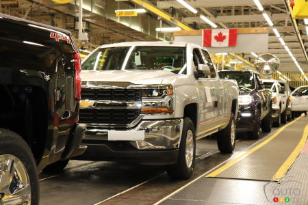 GM Will Build Pickup Trucks in Canada