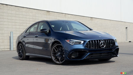 2020 Mercedes-AMG CLA 45 4MATIC+ Review: Master of the track, or high-performance luxury coupe?