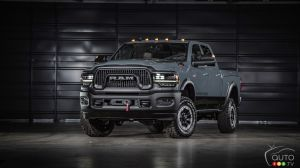 2021 Ram 2500 Power Wagon Gets 75th Anniversary Edition