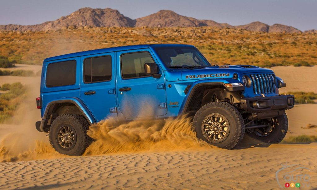Jeep Confirms Arrival of a V8-Powered Wrangler for 2021