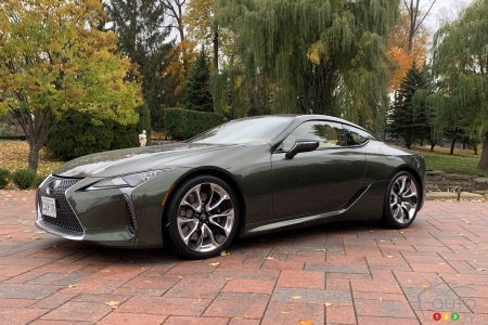 2021 Lexus LC 500 First Drive: Sporty in its Own Way