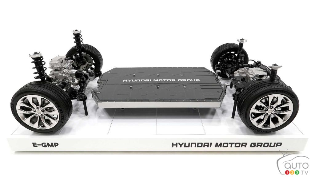 Hyundai Unveils E-GMP Modular Platform for Electric Vehicless
