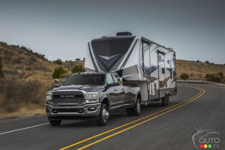 Ram Pushes HD Truck's Towing Capacity to 37,100 lb