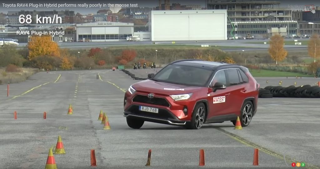 It's the Toyota RAV4 Prime's Turn to Fail Swedish Mag's Moose Test