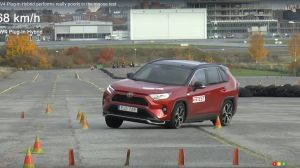 The 2021 Toyota RAV4 Prime, flunking the moose test