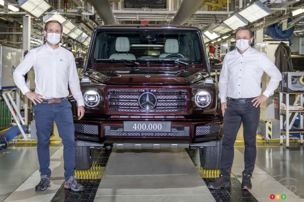 Production du 400 000e Mercedes-Benz Classe G