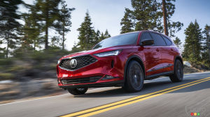 Acura Presents a Revamped 2022 MDX