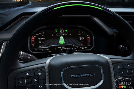 Digital Dashboard and Super Cruise Coming to the 2022 GMC Sierra