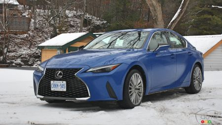 2021 Lexus IS Review: Going the (Half) Distance
