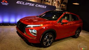 2022 Mitsubishi Eclipse Cross: We Meet the Redesigned SUV Up Close