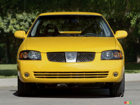 Nissan to recall 2002-2006 Sentra Models Over Takata Airbags