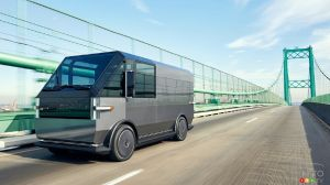 EV Startup Canoo Presents Electric Delivery Van