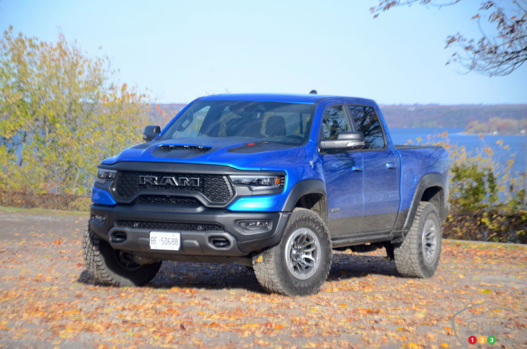 Production of the Ram 1500 TRX Underway