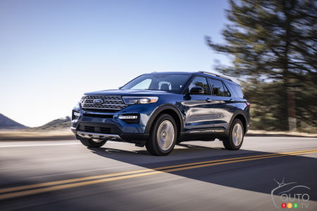 Ford Recalls Ford Explorer, Lincoln Aviator and E-Series