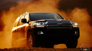 The Toyota Land Cruiser withdrawn from the U.S. market after 2021