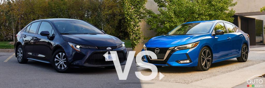 Comparison: 2020 Nissan Sentra vs 2020 Toyota Corolla