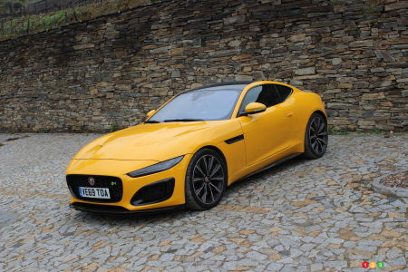2021 Jaguar F-Type First Drive: Restrained, but Not