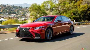 First Autonomous Drive System on the Way at Lexus