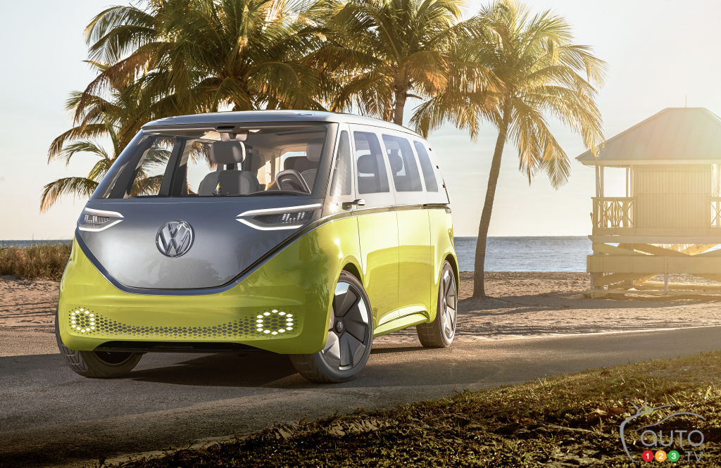 Production of Volkswagen's electric Microbus to start in 2022